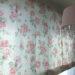 ローラアシュレイの上品なバラ柄の生地でローマンシェードをお作りしました